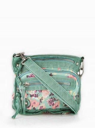 floral cross body bag vanity summer small purse