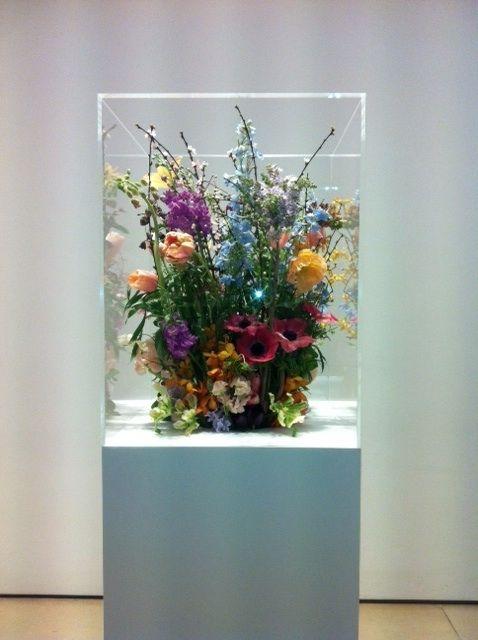 Bloemen als kunstobject!