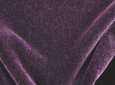 Gorgeous Deep Purple Donghia Mohair Velvet Fabric Incredibly