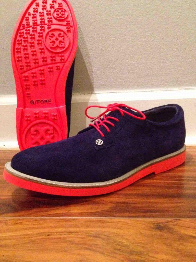 Gfore gallivanter midnight golf shoe review on http