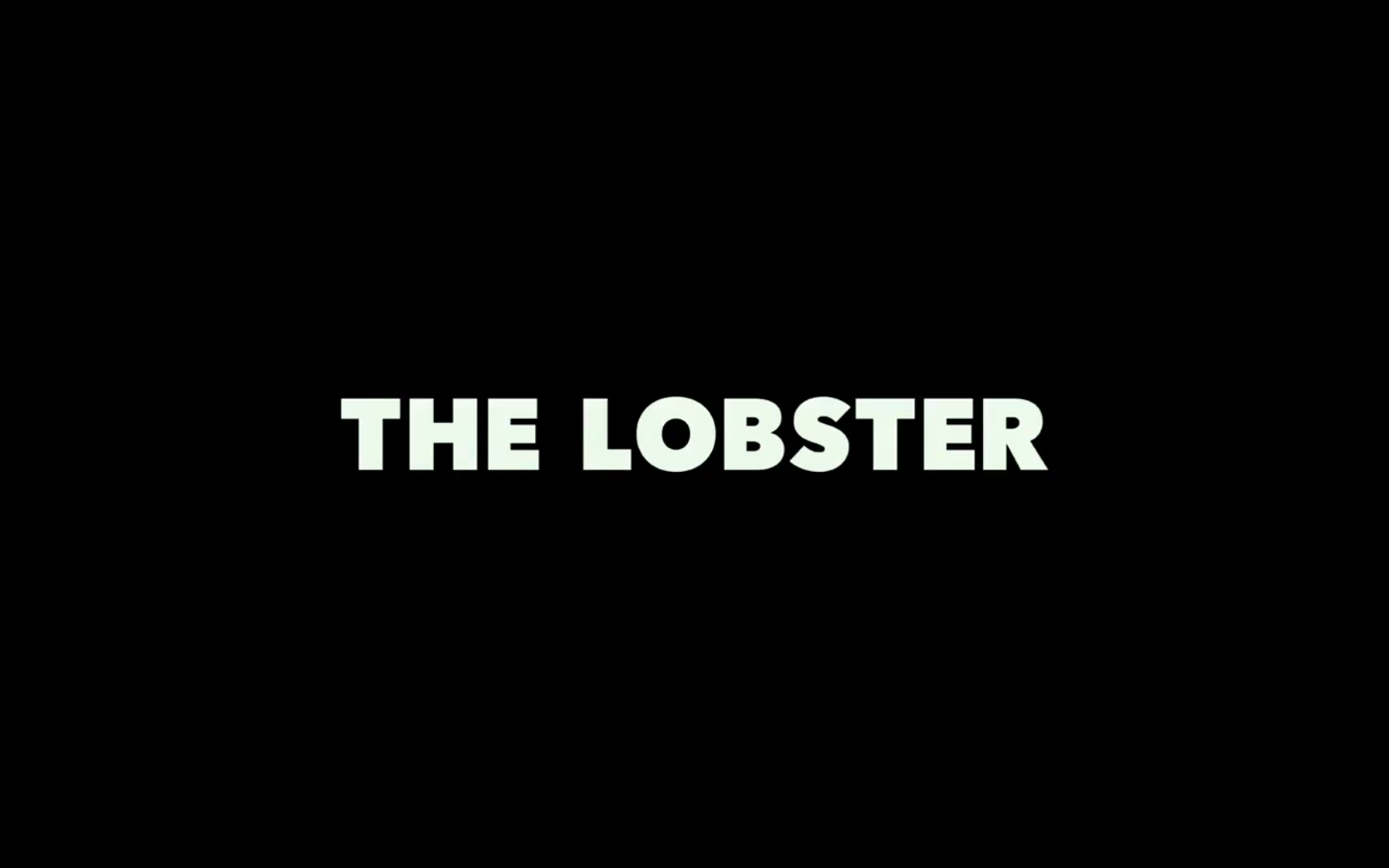 The Lobster Movie Title