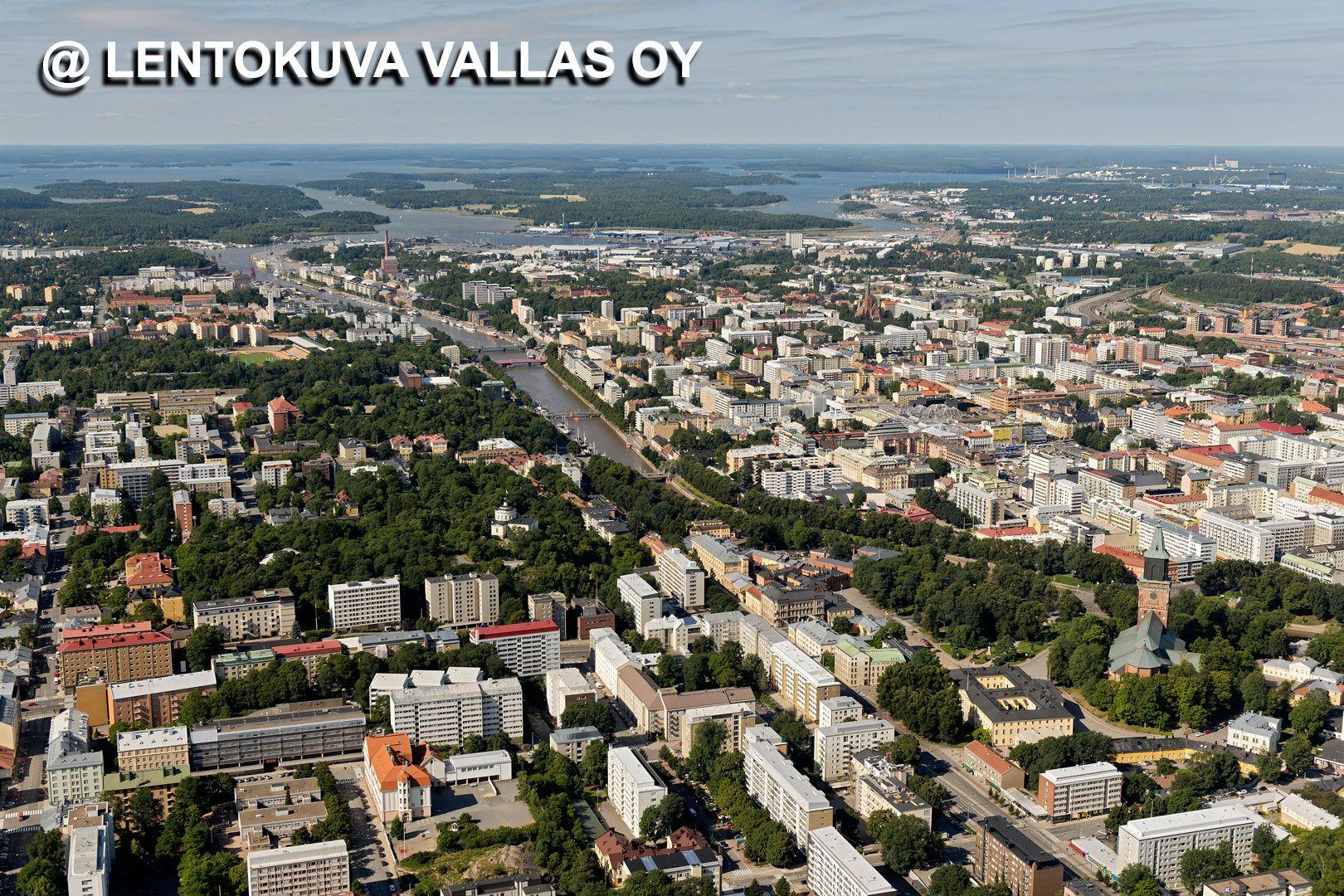 Ilmakuva Turku