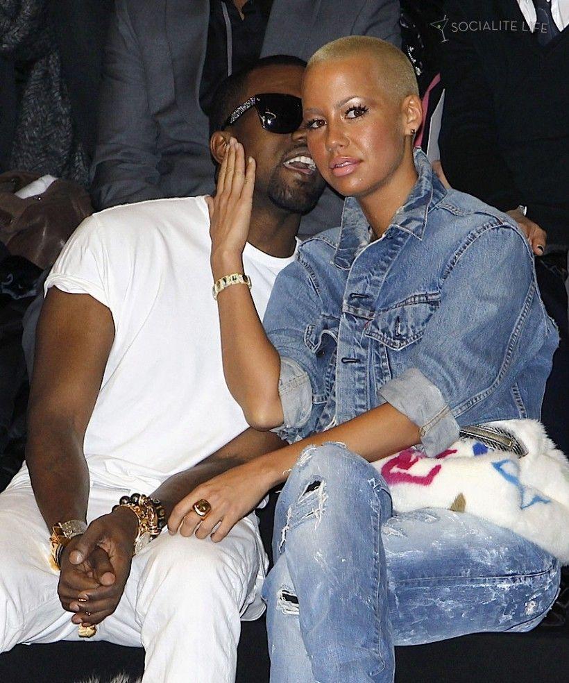 Kanye West Amber Rose Kissing Compilation Www Wikilove Com My Outfit Kanye West Nice Dresses