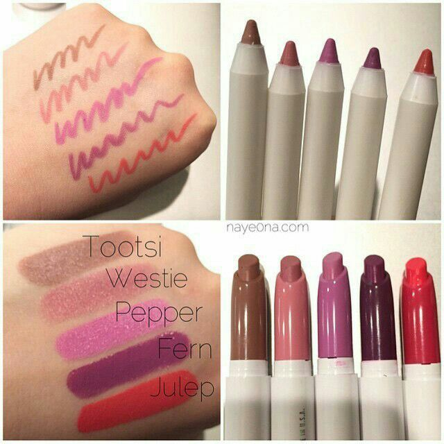 Colour pop NEW LE Spring 2015 Lippies