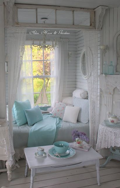 What An Adorable Daybed Reading Nook By Aiken House