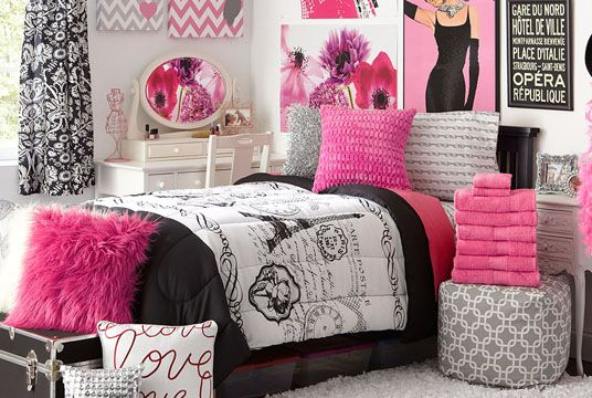 How To Decorate Your Dorm Room Based On Your Zodiac Sign Paris Themed Bedroom Decor Paris Decor Bedroom Paris Room Decor