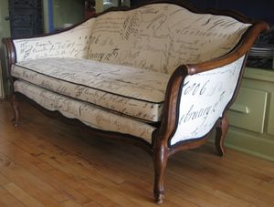 Cool French Script Sofa Decor Living Rooms French Script Ibusinesslaw Wood Chair Design Ideas Ibusinesslaworg
