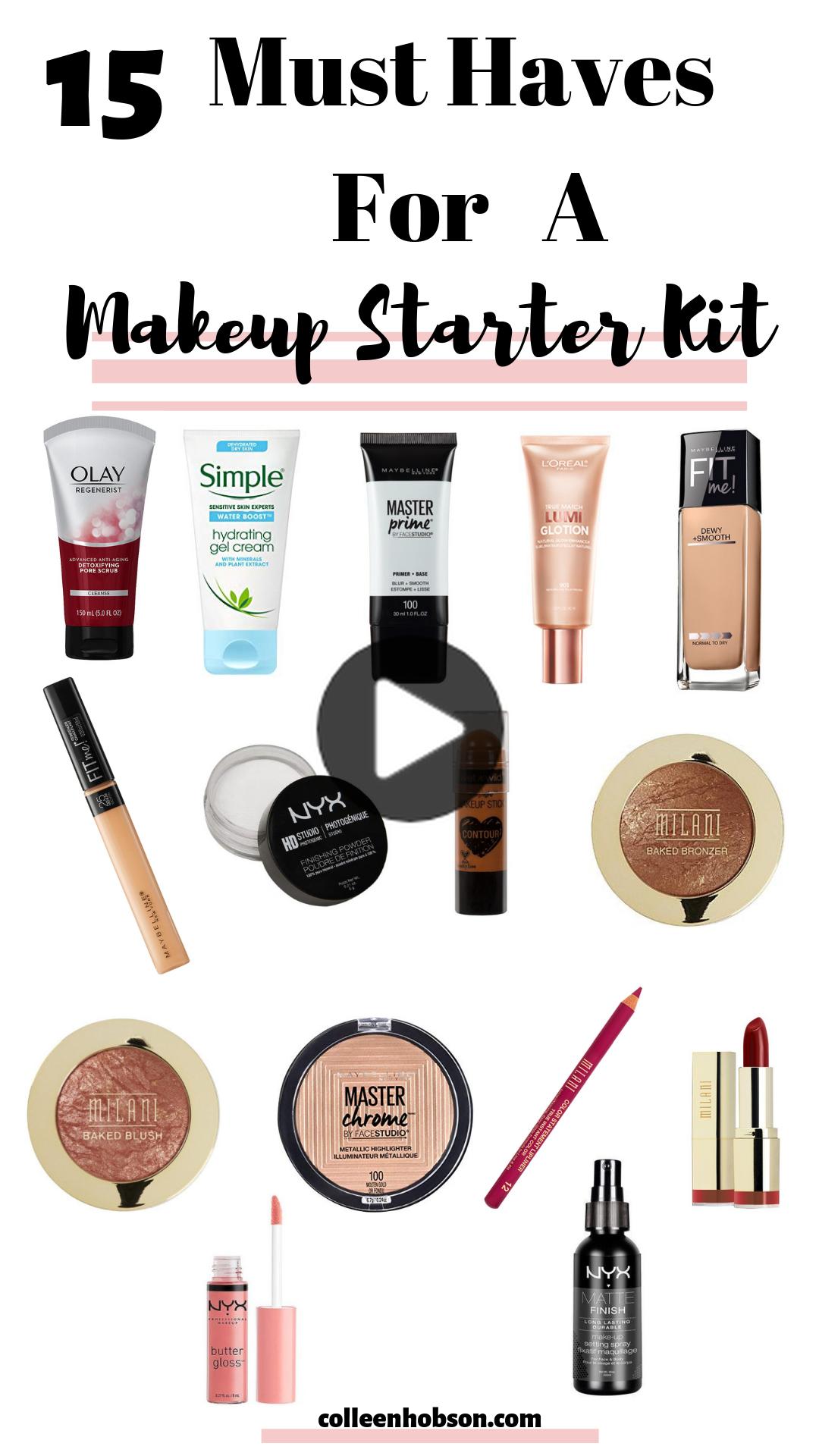 Drugstore Makeup Starter Kit For Beginners in 2020