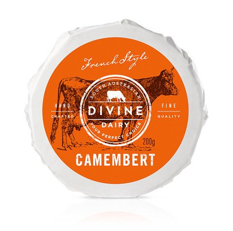 Camembert packaging