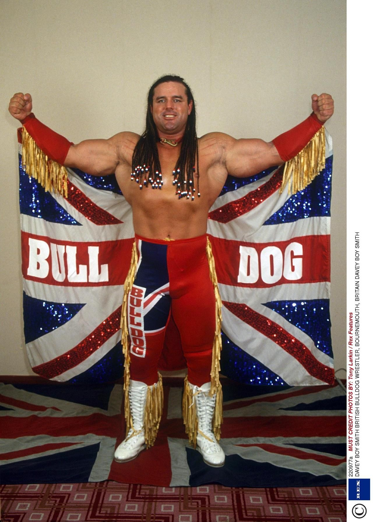 "British Bulldog"" Davey Boy Smith 