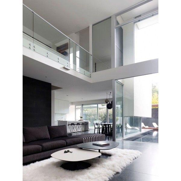Diseno De Interiores Arquitectura Diseno De Interiores En Casa De Dos Pisos Con Esti Modern Minimalist Living Room Interior Architecture Minimalist Living Room