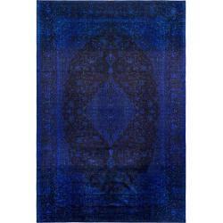 Photo of benuta Teppich mit Print Siljan Blau 130×190 cm – Vintage Teppich im Used-Look benuta