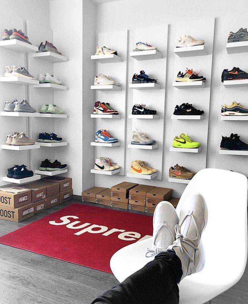sneakerhead bedroom