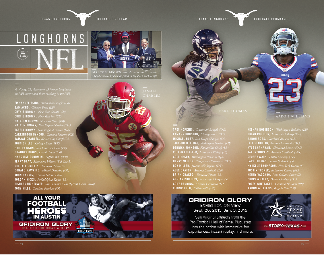 Many Former Texassports Student Athletes Are In The Nfl Including Malcolm Brown Jamaal Charles Earl Thomas An Jamaal Charles Student Athlete Texas Longhorns