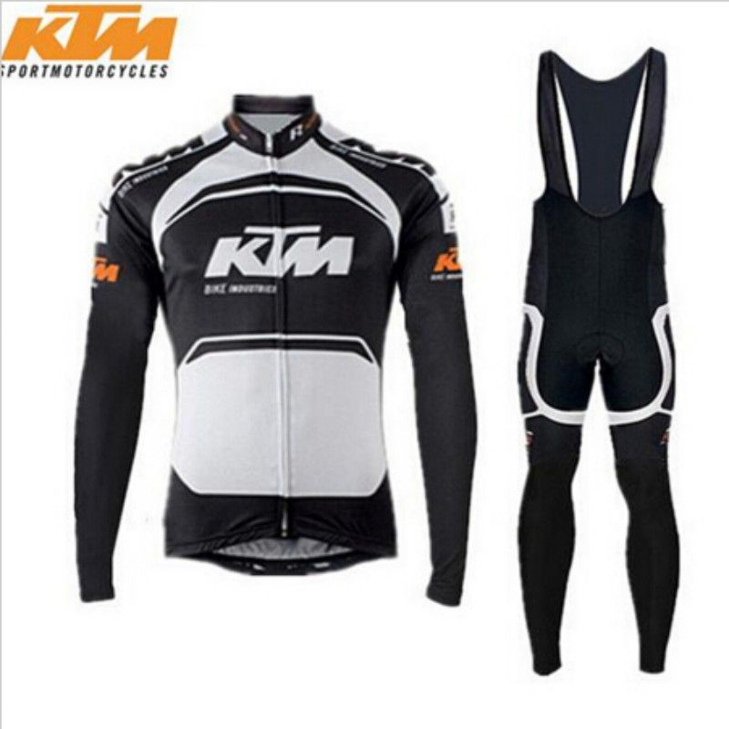 8fe1b0fb9 New Cycling Jersey Long Sleeve Racing Bike KTM Cycling Clothing MTB Cycle  Clothes Wear Ropa Ciclismo Sportswear