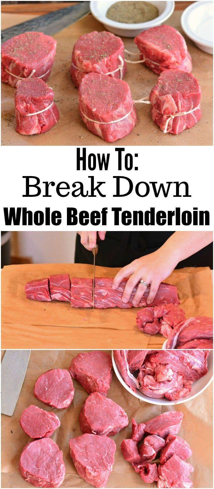 How To Break Down A Whole Beef Tenderloin