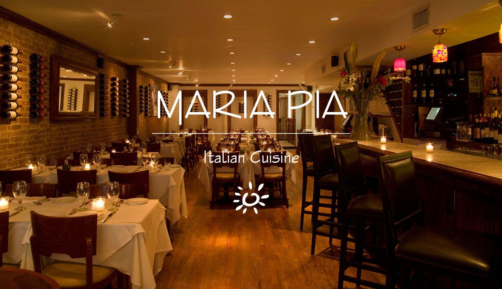 Maria Pia Italian Restaurants Theatre District Nyc Midtown Westside New
