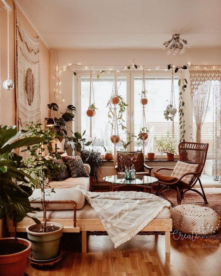 Dreamy bohemian house with best of exterior interior decor ideas 12