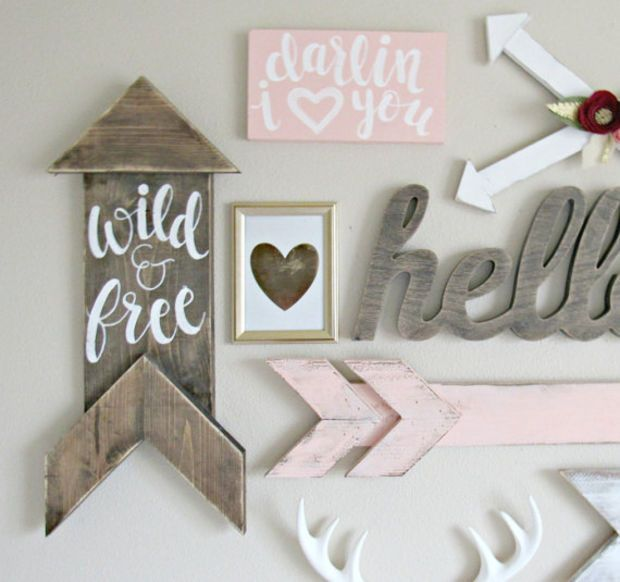 Painted Picture Frames Boho