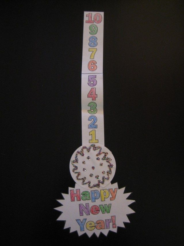 Countdown Ball Drop Decoration | New year's eve crafts ...