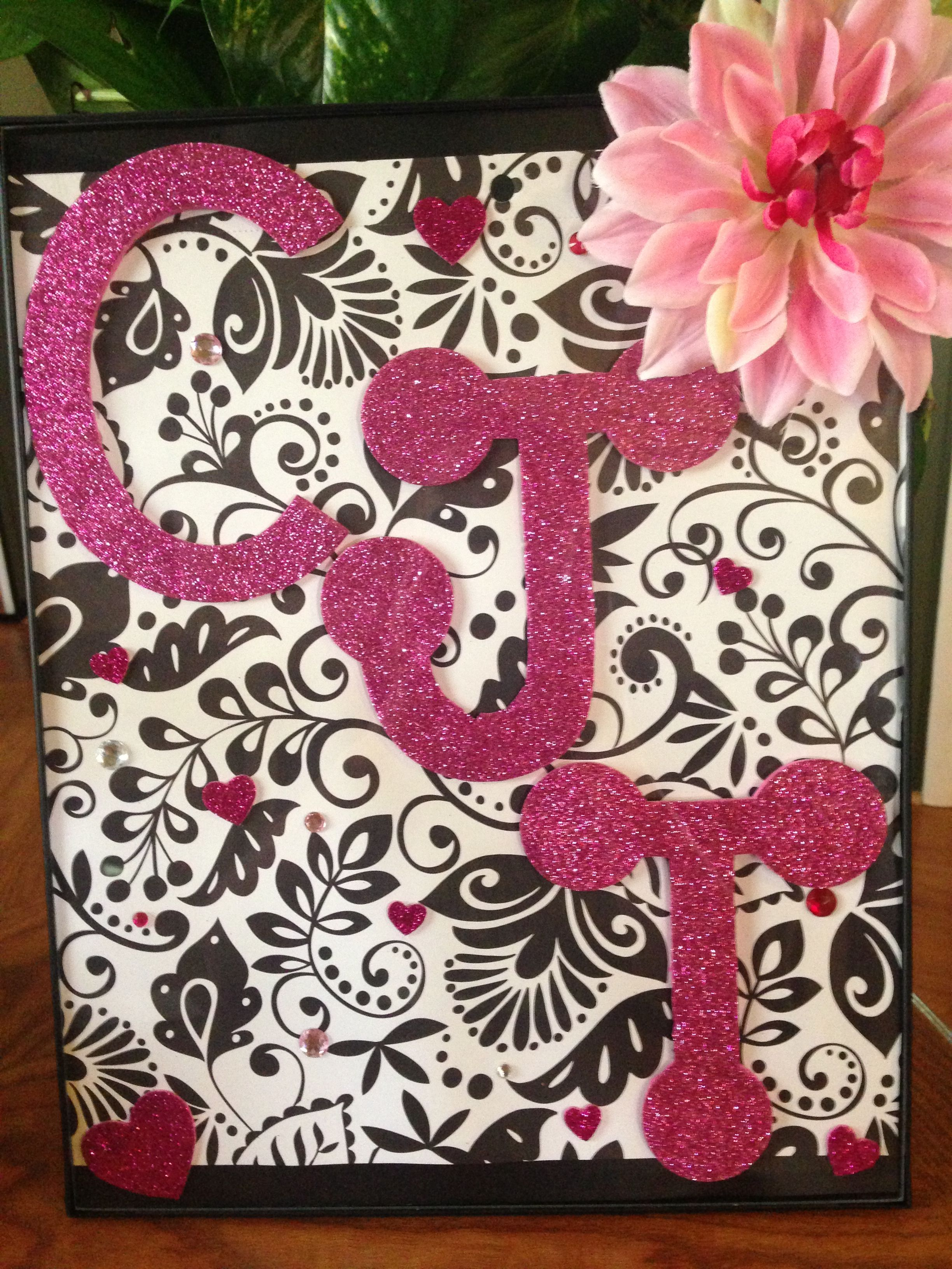 My Sister Birthday Present Just Made For Her Also Homemade Younger Sisteray Painted Canvas Rh