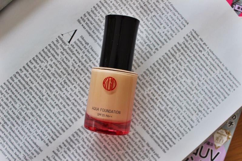 Review Koh Gen Do Aqua Foundation Koh Gen Do Japanese Cosmetics Aqua