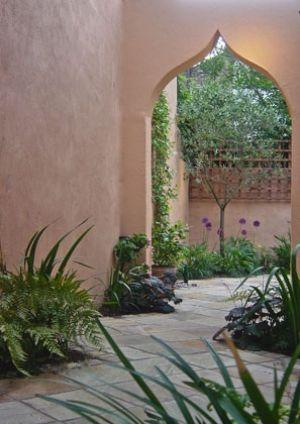 A Moroccan Courtyard   Sue Townsend Garden Design