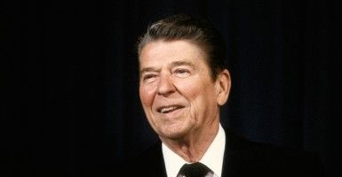 President Ronald Reagan left office with a final approval rating of 63 percent, the highest of any president to that point.