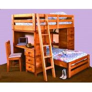 Excited to get my bunk bed tonight! My mother ordered one for the kids!