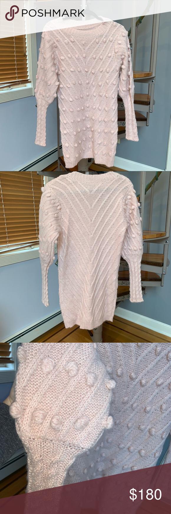 bb6a081df7e Zimmermann like fleeting bauble puff sweater dress Zimmermann like fleeting  puff bauble sweater pink dress size medium 2 (6-8) Dresses Mini