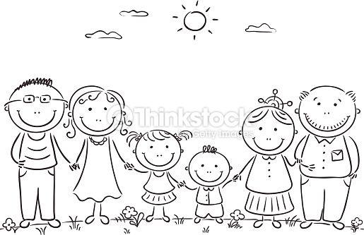 my family activities for preschool para colorear - Buscar con Google ...