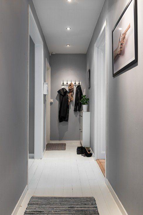 Un espace citadin au style industriel  Rnovation couloir cuisine  Decoration entree couloir