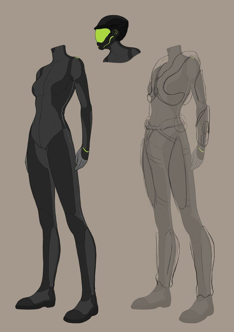 Unpd Nanotech Combat Suits By Charlottechambers Deviantart Com On