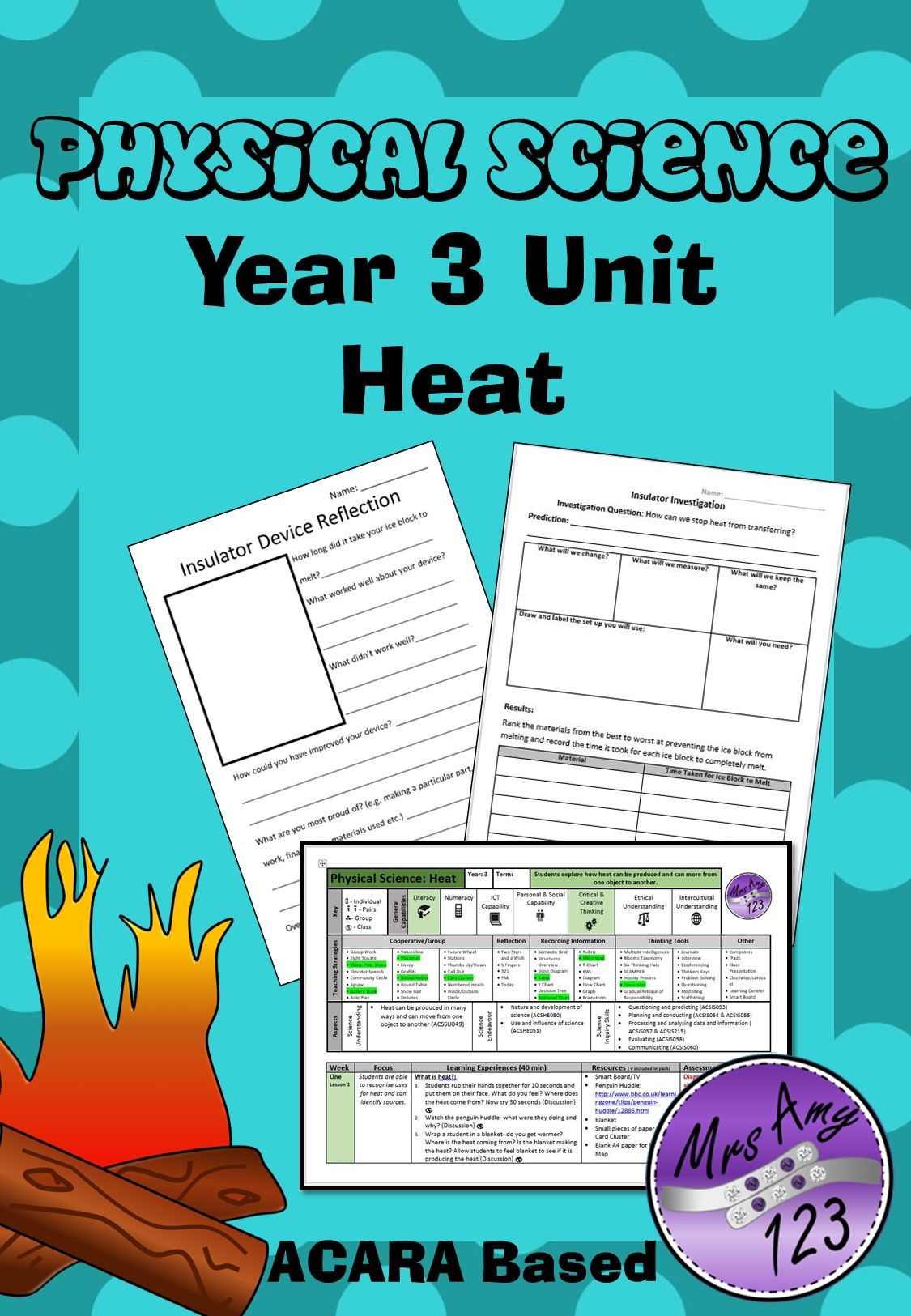 Physical Science Year 3 Heat Unit