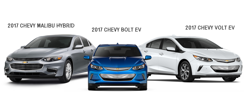 2017 Chevy Hybrid and EV Models