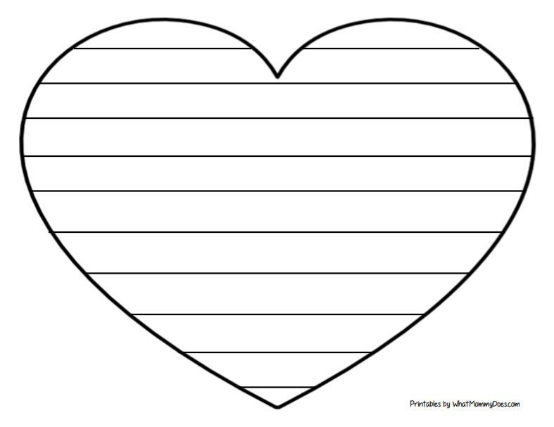 Easy Heart Coloring Pages For Kids Stripe Patterns Heart Coloring Pages Coloring Pages For Kids Coloring Pages