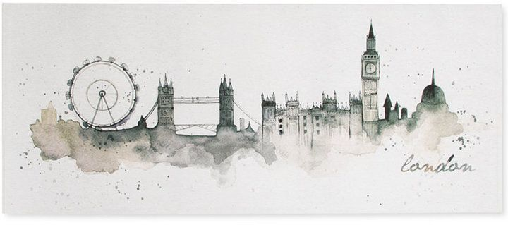 Graham Brown London Watercolor Wall Art Reviews Wall Art