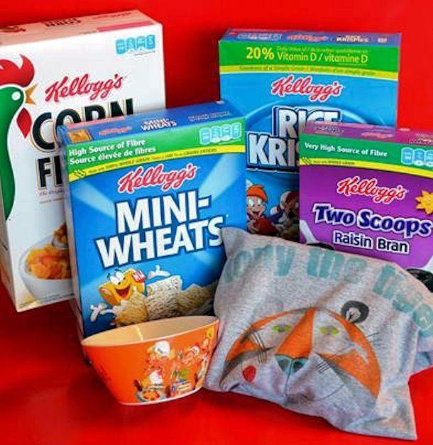 Kellogg's Cerealandmilk Prize Pack