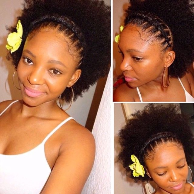 Naturalhair Be On Instagram Summer Hairstyle Elasticcornrows U Like Youtube Hellow Na Natural Hair Styles Summer Hairstyles African Hair Braiding Styles