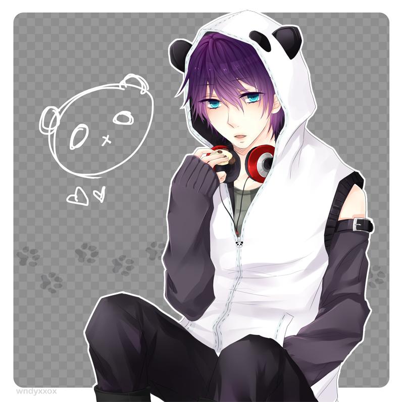 Panda D by wndyxxox on DeviantArt Garotos anime, Anime