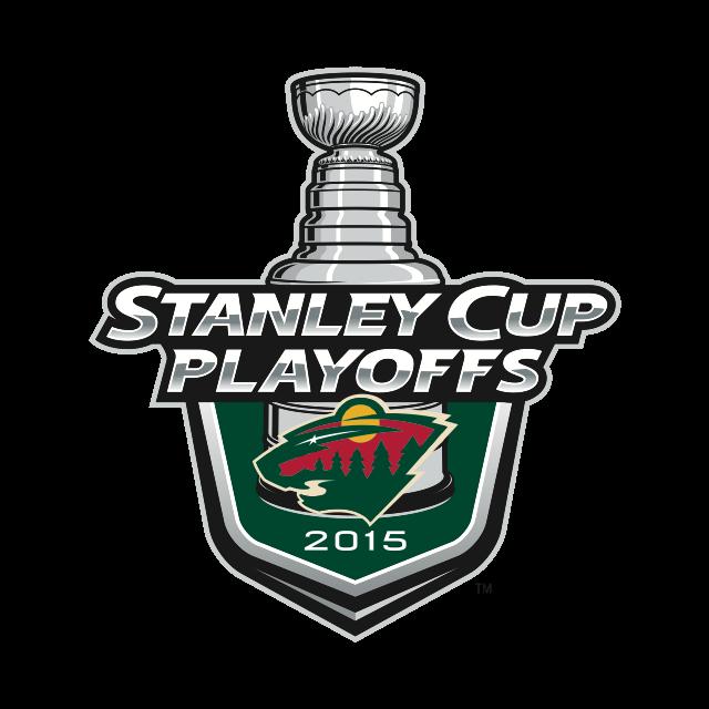 Minnesota Wild 2015 Stanley Cup Playoffs Logo I Hope This Will Happen Too Minnesota Wild Hockey Minnesota Wild Lightning Hockey