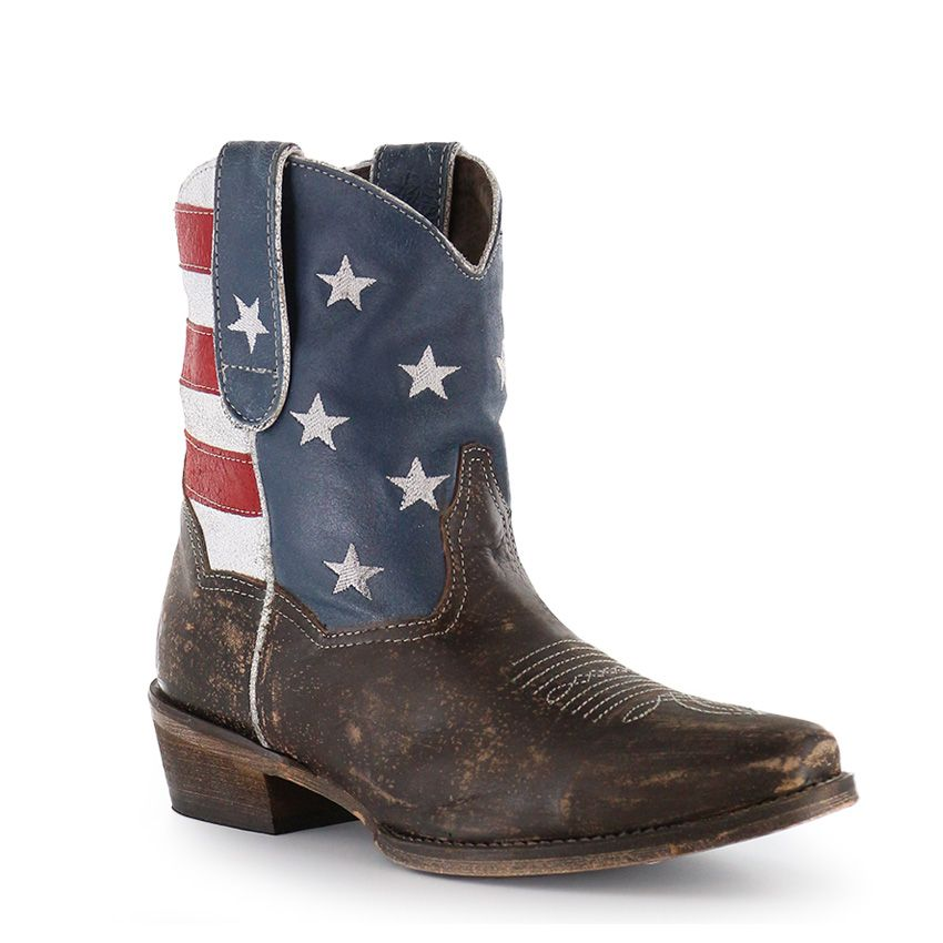 98f26603ab3 Roper Women's American Beauty Flag Ankle Boots in 2019 | Shoes ...