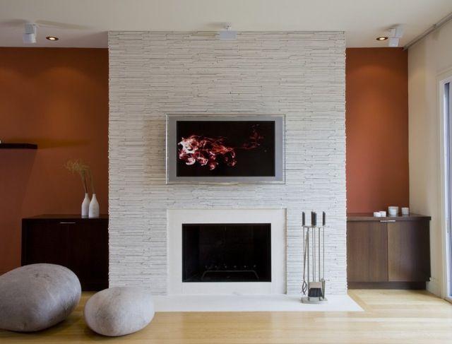 Magnificent Fireplace Feature Wall Fireplace Surrounds Contemporary Home Interior And Landscaping Eliaenasavecom