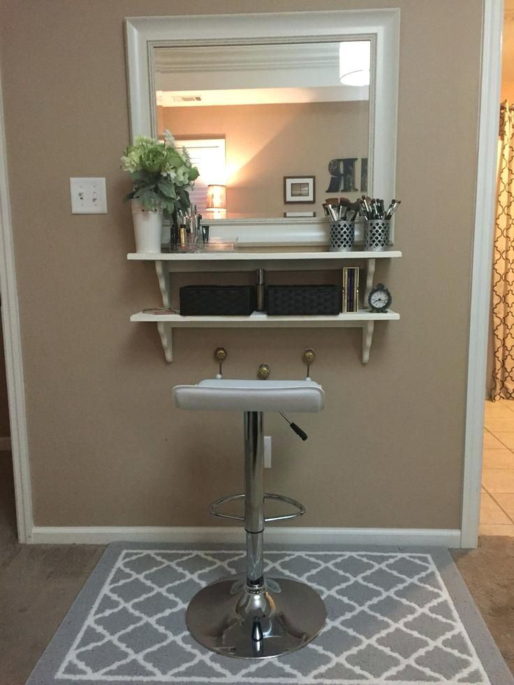 Vanities Floating Makeup Vanity Shelf Floating Makeup