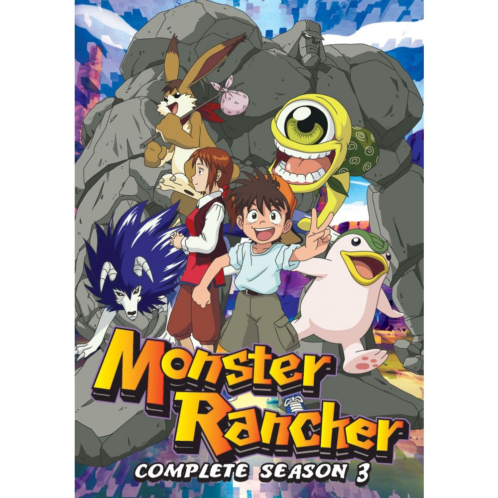 Monster Rancher The Complete Season 3 4 Discs Dvd Video