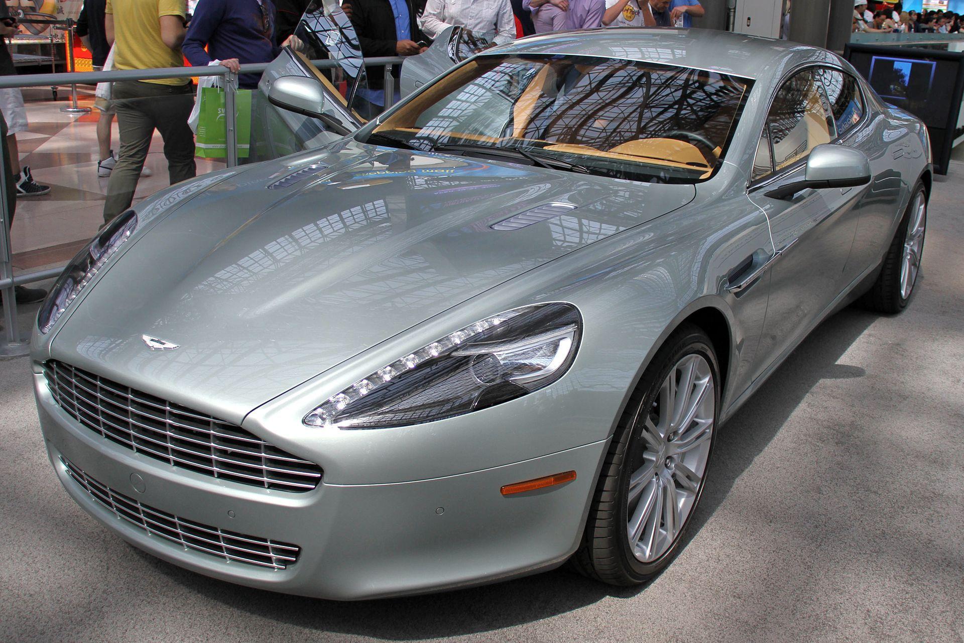 Aston Martin Rapide NYIAS - Aston Martin