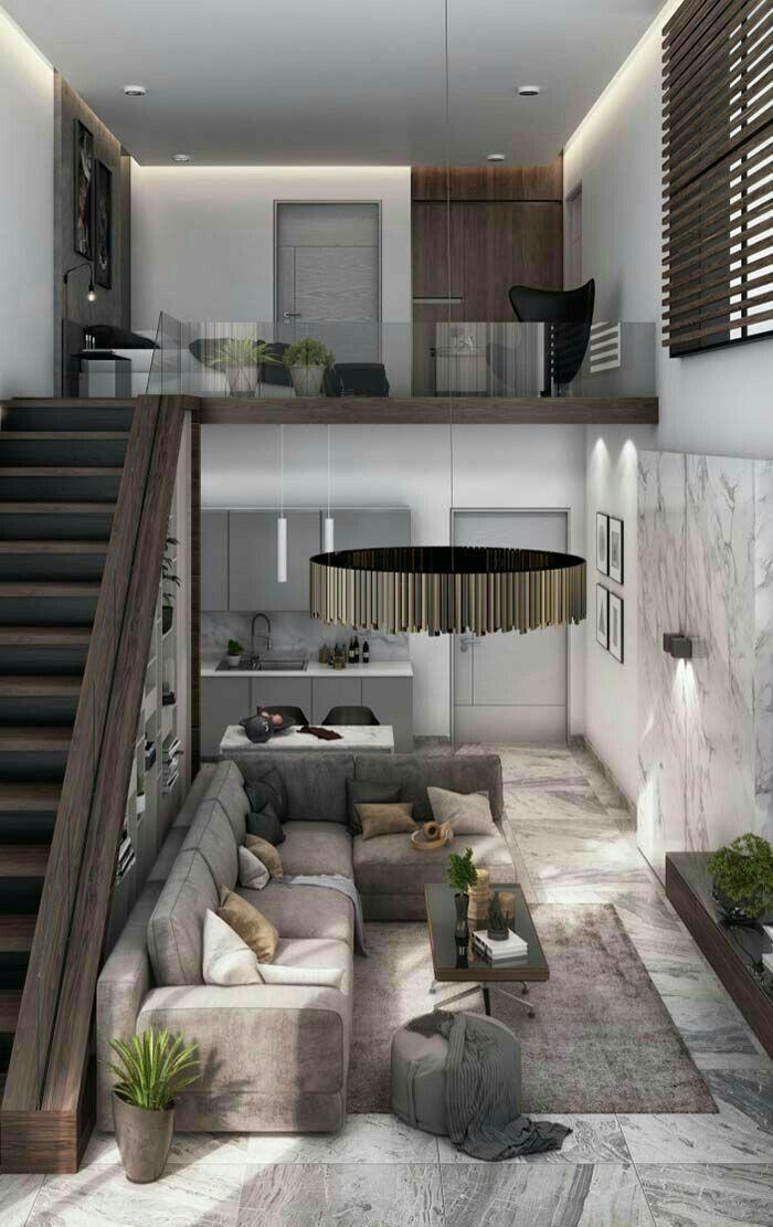Pin Oleh Ricardo Piva Di Loft Ide Apartemen Desain Rumah Desain Rumah Modern