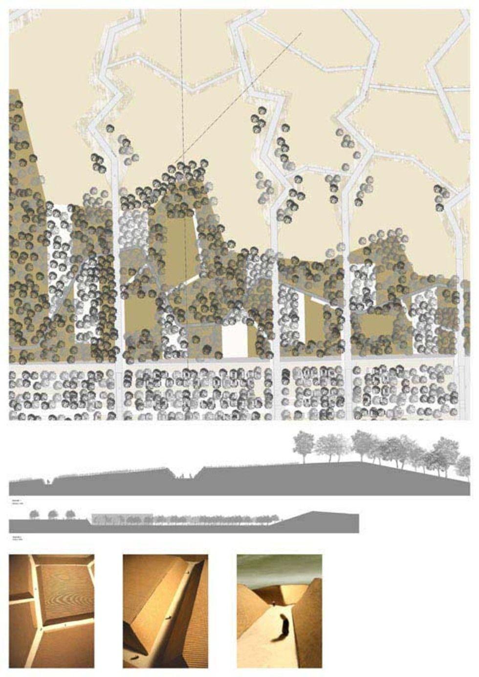 Nuovo Parco Urbano Di Bagnoli Landscape Map Diagram