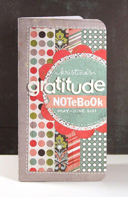 Basicgrey How To Make A Basic Gratitude Journal Video