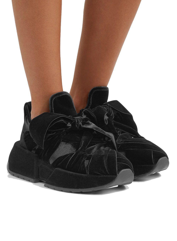maison margiela bow sneakers